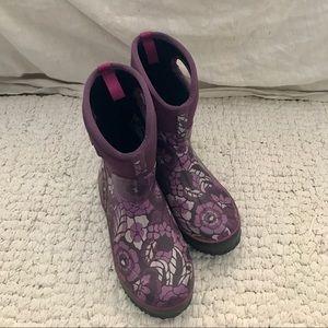 Bogs purple rainboots